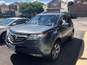 2009 Acura MDX SUV, Crossover - Rear Camera with Sunroof