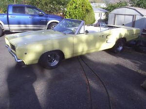 1968 Dodge Coronet Convertible  1 of 1557 Built