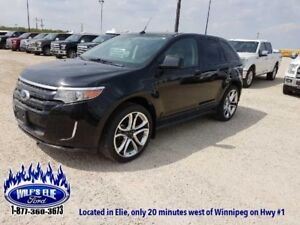2011 Ford Edge Sport    - Heated Leather Seats