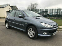55 PEUGEOT 206 VERVE 1.4 HDI £30 TAX 79000 MILES DEC 17 MOT CLEAN CAR