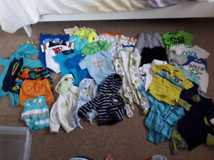6M to 12M baby boy clothes a lot