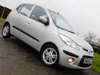 2010 HYUNDAI i10 1.2 Comfort 5 DOOR**LOW MILES**FSH**£30 ROAD TAX