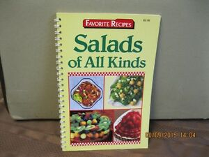 FAVORITE RECIPES    SALADS  OF  ALL  KIND Oakville / Halton Region Toronto (GTA) image 1