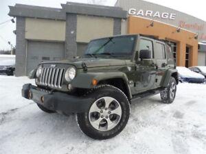 Jeep Wrangler Unlimited SAHARA, NAVIGATION, MAG 18 P, TOIT MOU,