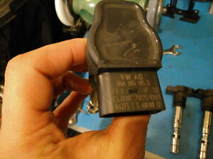 Audi Volkswagen 1.8t coilpacks almost new Kitchener / Waterloo Kitchener Area image 1