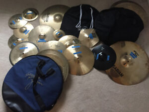 Cymbals For Sale (See list for details)