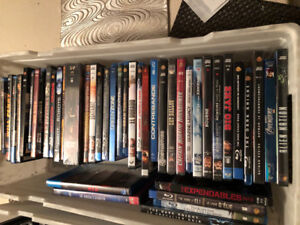 DVD and blue ray movies
