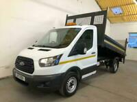 2017 Ford Transit 350 130PS SINGLE CAB TIPPER TAIL-LIFT