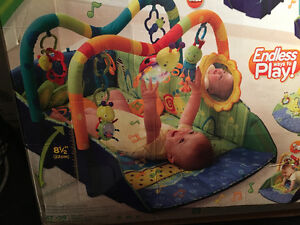 bright starts baby's playplace