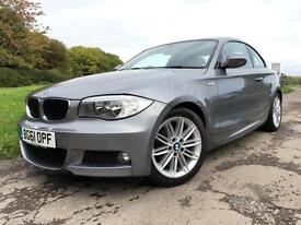 BMW 118 2.0TD M SPORT COUPE 2011 Diesel Grey Manual 2 door