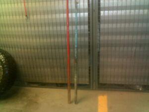 2 -Heavy duty pry bars 4 and 5'