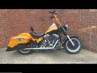 At Hurricane Harley Davidson Fat Boy Bagger in VGC Might Part X Motor Home