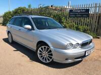 2006 06 Jaguar X-Type 2.5 V6 Classic AWD 4X4 Petrol Estate 194 BHP 81K MILES