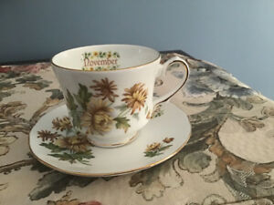 Duchess china cup and saucer
