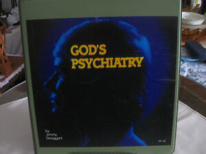 VINTAGE CASSETTE ALBUM GOD'S PSYCHIATRY by JIMMY SWAGGART