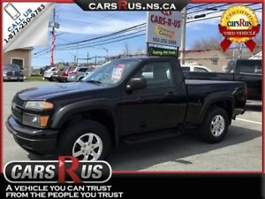 2011 Chevrolet Colorado 4x4 LT 2dr Regular Cab w/1LT