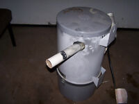Central vacuum cannister
