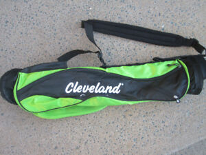 """Cleveland Golf Sunday Bag with Carrying Strap """"NEW"""""""