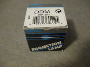 2 Projection Lamps-19V/80W-Apollo-New in boxes + -Entire lot $5