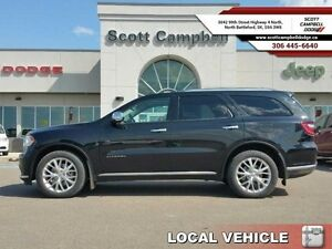 2014 Dodge Durango CITADEL AWD  - one owner - local - trade-in -