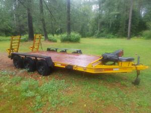 12000lb tri axle trailer