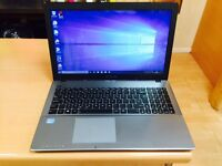 i5 8GB Veryfast like new Asus HD laptop massive 750GB,window10,Microsoft office, ready to use