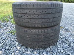 Two Continental 245/40R17 Summer Tires Excellent Tread