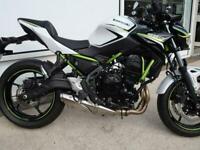 KAWASAKI Z650CC MOTORCYCLE. ABS. CAN BE A2 COMPLIANT .ULEZ COMPLIANT