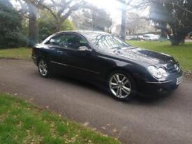 2008 58 Mercedes CLK 200 Kompressor Coupe Avantgarde Leather Fsh £4595