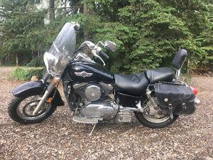 2005 Kawasaki Vulcan Classic 1500cc near Bonnyville