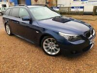 2007 '57' BMW 530d M Sport Touring AUTO. E60. Diesel. Estate. Automatic. Px Swap