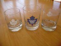 TORONTO MAPLE LEAF/CROWN ROYAL GLASSES