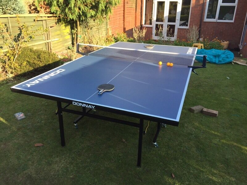 Donnay outdoor table tennis full size in excellent condition like new in great barr west - Gumtree table tennis table ...