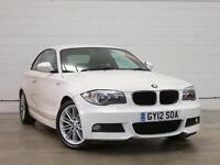 2012 BMW 1 SERIES 120d M Sport Leather 1 Owner Low Miles Aircon