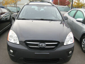 2008 Kia Rondo EX w/3rd Row WagonCAR PROOF VERIFIED SAFETY AND E