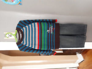 Krickets boys outfit size 3/4