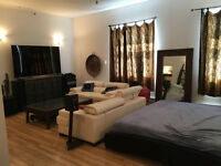 MONTREAL CONDO / LOFT FOR IMMEDIATE RENT LARGE 1-Bedroom