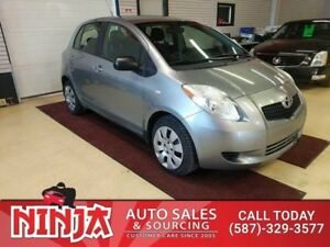 2008 Toyota Yaris Manual 5 Door Hatch  2 Sets of Mounted Tires