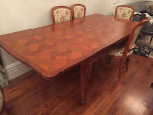 Walnut Dining Room Table (Extendable)