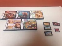 Ds and gameboy advance games-10.00 each!!