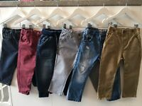 Boys 1.5-2yrs pants bundle (X6)