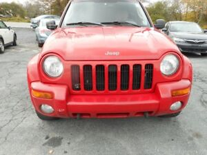 2003 Jeep Liberty Limited tax included SUV, Crossover