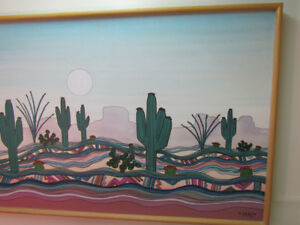 """Large Greg  Kyle-Arizona Art- Original Oil on Canvas  Painting"""