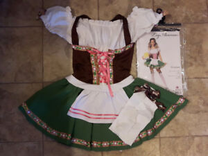 Beer Maid Costume Size Large
