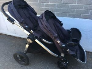 Double Stroller - Baby Jogger, City Select and Car Seat Adaptor