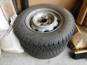 14 inch rims for Toyota with snow tires