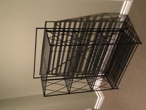 Pier One wrought iron shelf unit