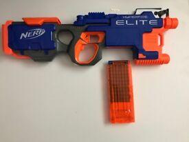 Nerf rapid fire elite with cartidge