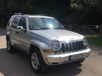 Jeep Cherokee ltd v6 auto petrol 208bhp fully loaded leather,satnav,sunroof