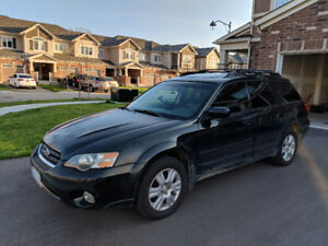 Subaru Outback Limited 2005 runs, needs work